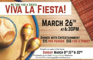 No Time for a Siesta, Viva La Fiesta