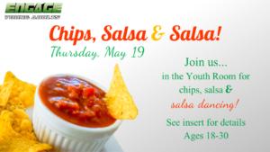 Chips, salsa, and salsa