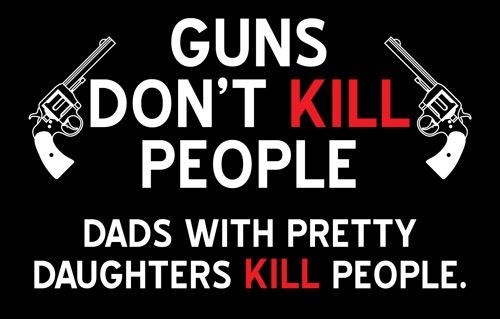 NO, GUNS ACTUALLY DO KILL PEOPLE! - Church of The Rock