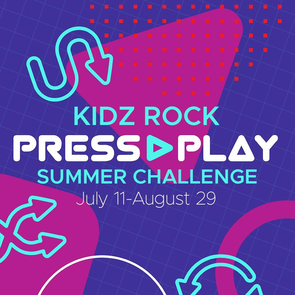 WSC – Kidz Rock PRESS PLAY Summer Challenge