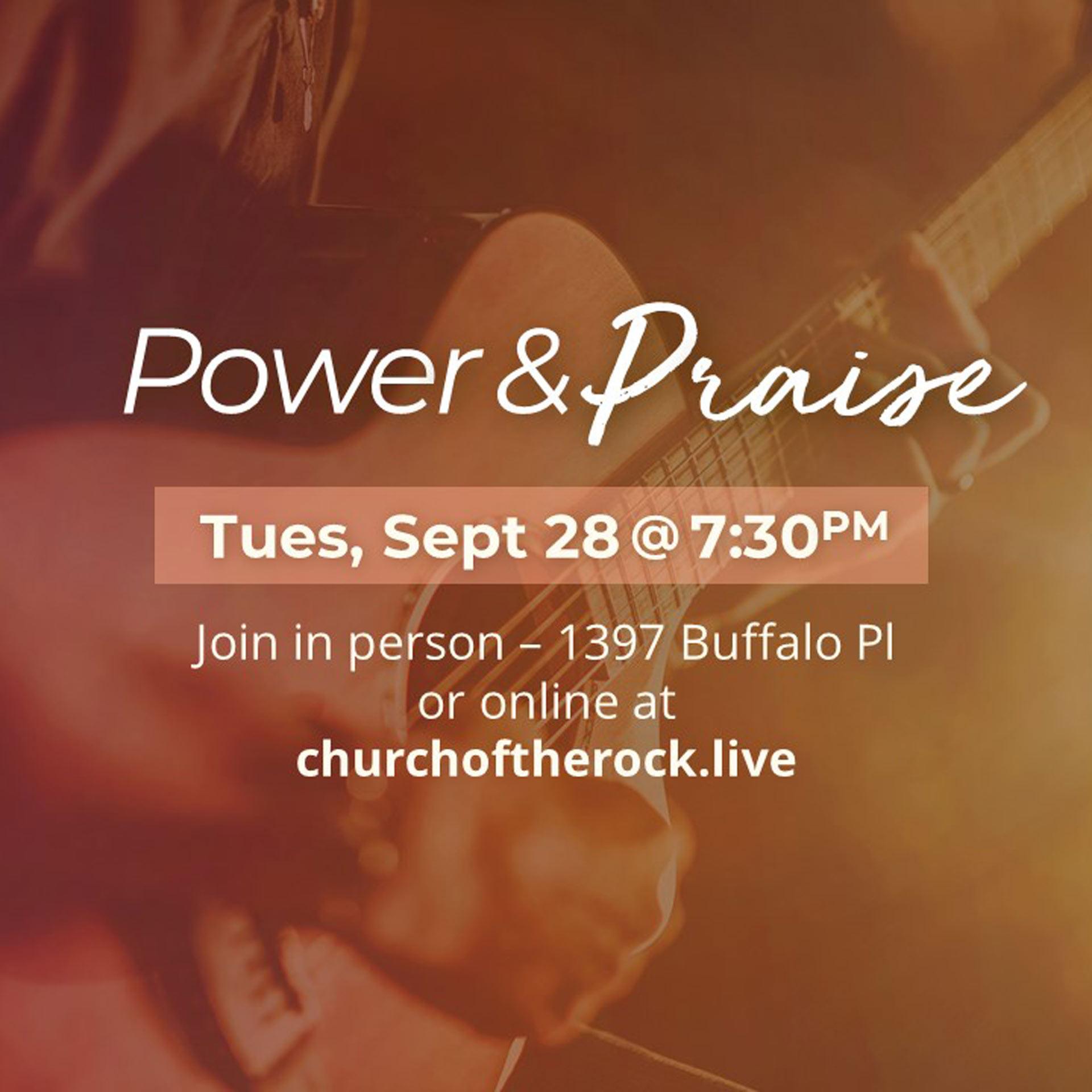 WSC Power & Praise