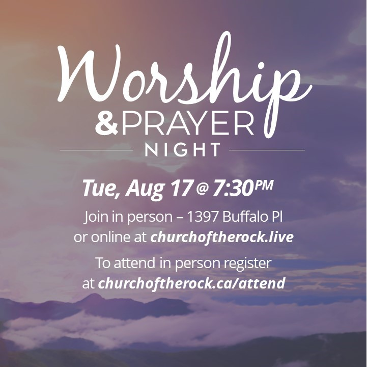 WSC Worship & Prayer – AUG 17